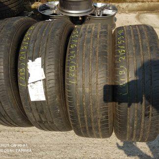 215/55 R18 Continental nyári gumi 40000ft a 4db/219/