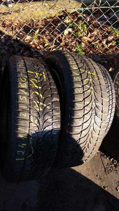 215/60 R17 Bridgestone téli gumi 12000ft a 2db /241/