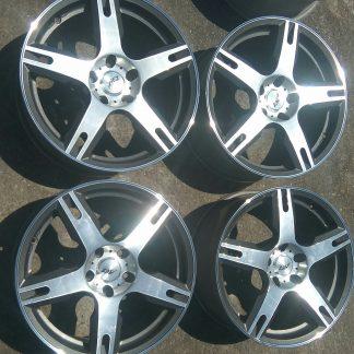 5x114,3 18 Polír alufelni Chevrolet Hyundai Mazda Lexus 150000ft a 4db INGYENPOSTA! /29/