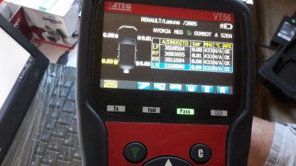 Gyári Renault nyomásérzékelő 20000ft a 4db /3/