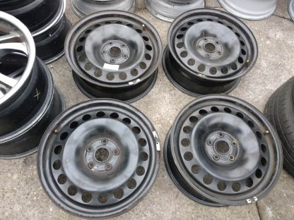5x112 17 Gyári Volkswagen acélfeni 45000ft a 4db/45/