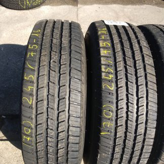 245/75 R16 Michelin téli gumi 65000ft a 2db/70/